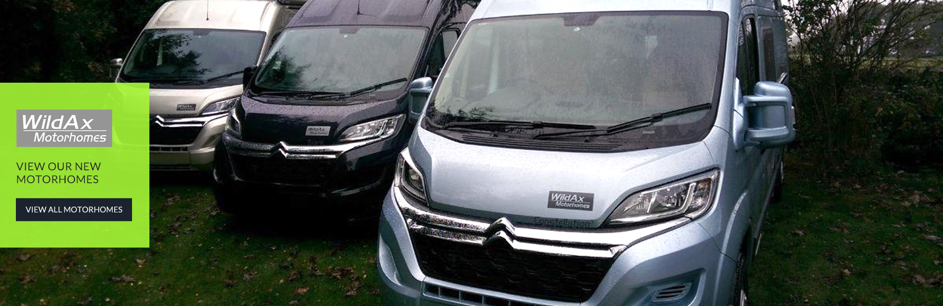 View our New Motorhomes